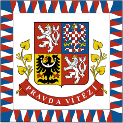 flag of the president of the czech republic